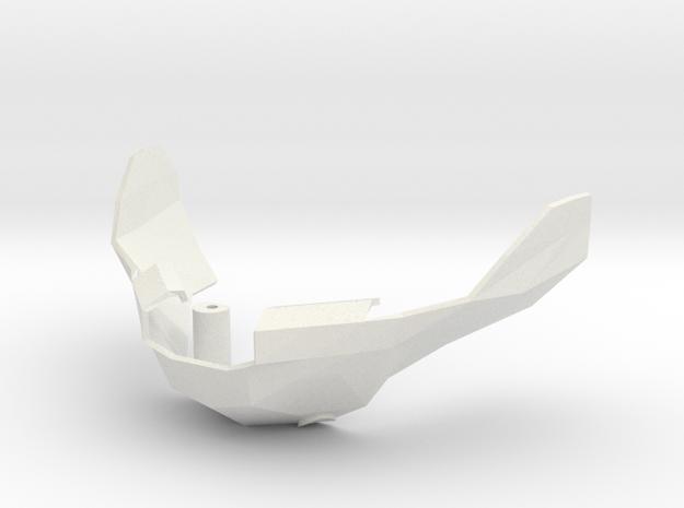 Underskull JAW in White Natural Versatile Plastic