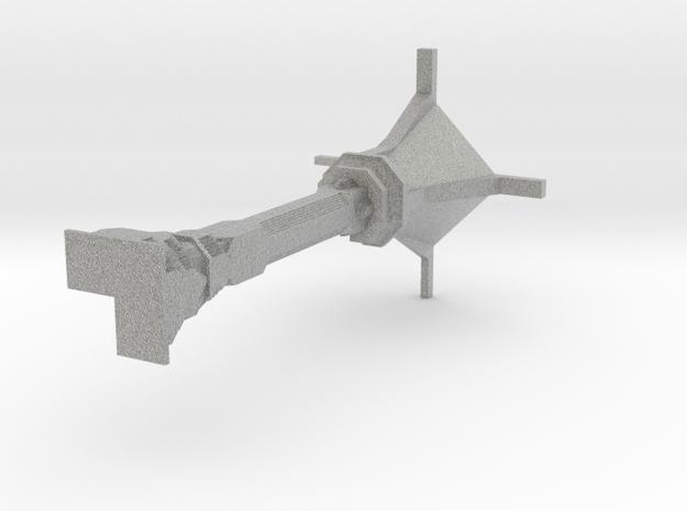 Half Scale Dwarven Column Outer Corner 3d printed