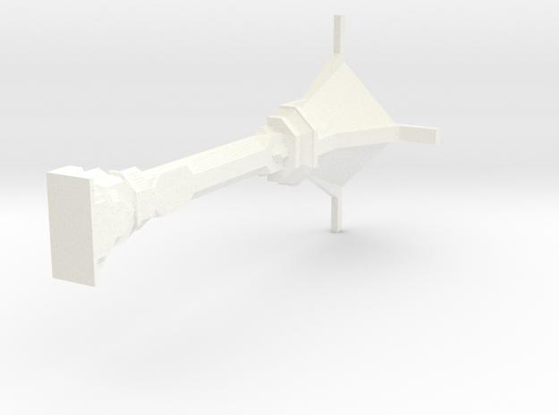 Half Scale Dwarven Column Wall 3d printed