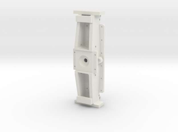 F46-Front Frame Bolster- 1-8th Scale in White Natural Versatile Plastic