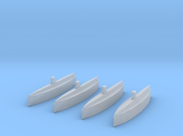 Type IIA U-Boat 1/2400 x4 3d printed
