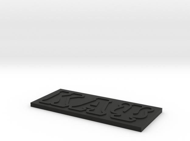 Kappa Alpha Psi 3d printed
