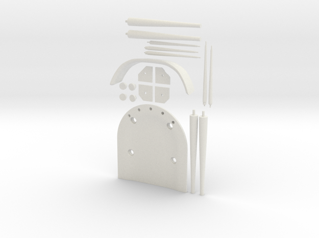 Chair Parts 3d printed