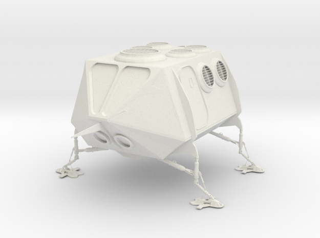 Lander in White Natural Versatile Plastic