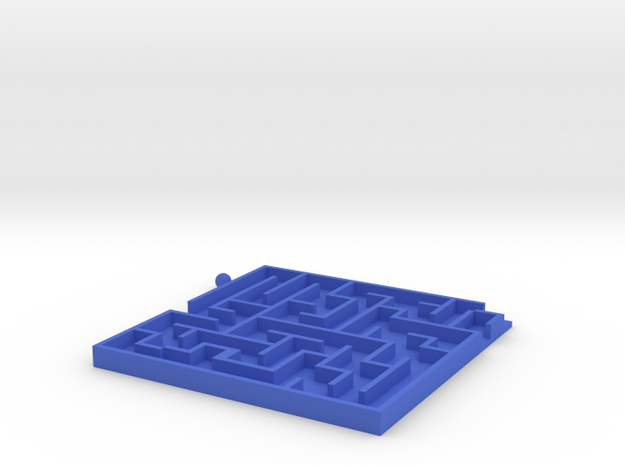 Toy Maze in Blue Processed Versatile Plastic