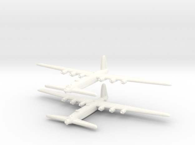 "Vickers ""C"" Heavy Bomber (UK) - 1/600 - (Qty. 2) in White Processed Versatile Plastic"