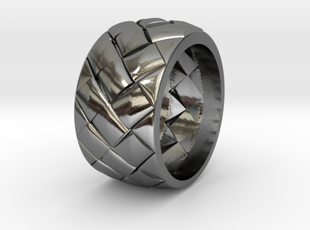 Lattice-Ring US-SIZE9.5(JP-SIZE#19) 3d printed