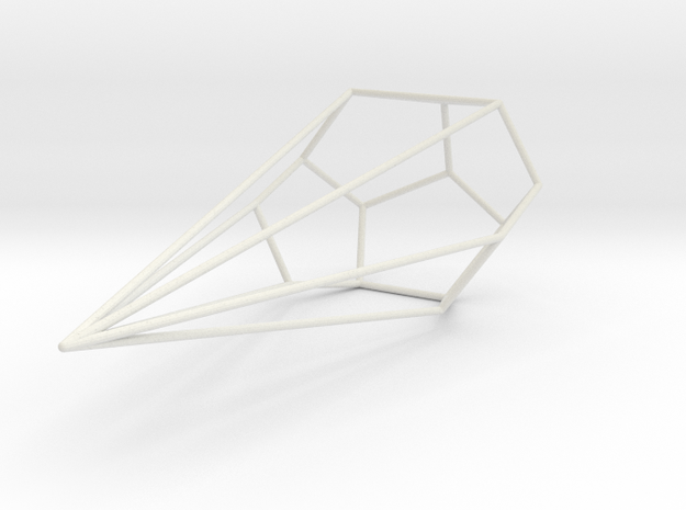 Anaconda Wireframe 1-300 in White Natural Versatile Plastic