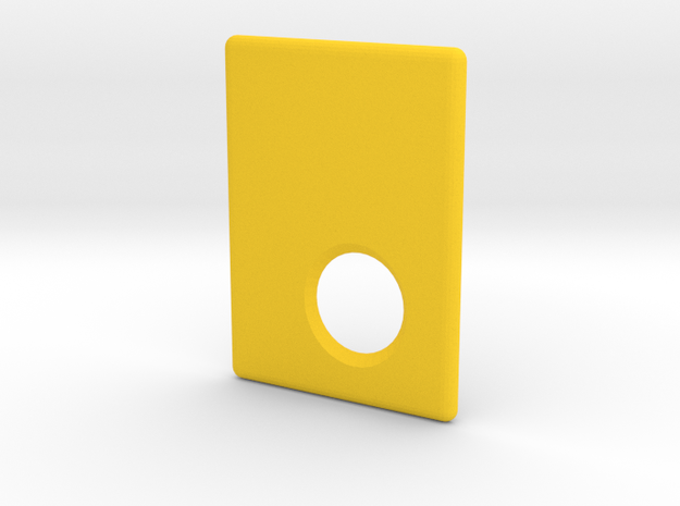 Mark II Cover in Yellow Processed Versatile Plastic