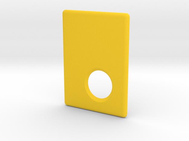 Mark II Cover in Yellow Processed Versatile Plastic