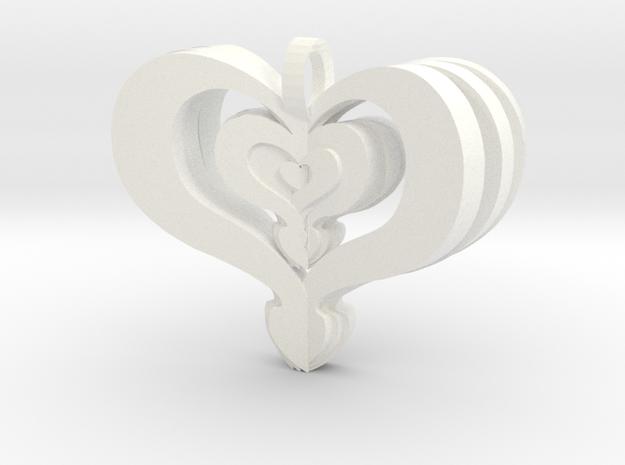 Heart 3d printed