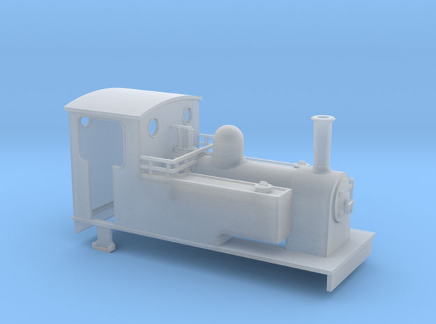 009 Kerr Stuart side tank loco( longer)  3d printed