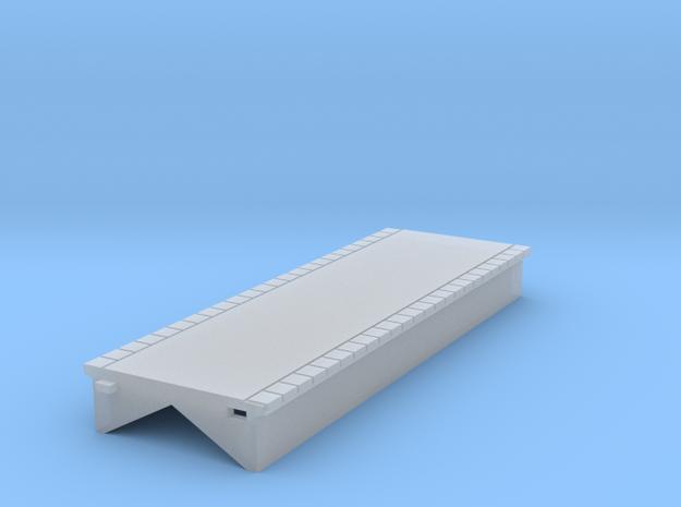 T Gauge Perrondeel 60 mm (1:450) 3d printed