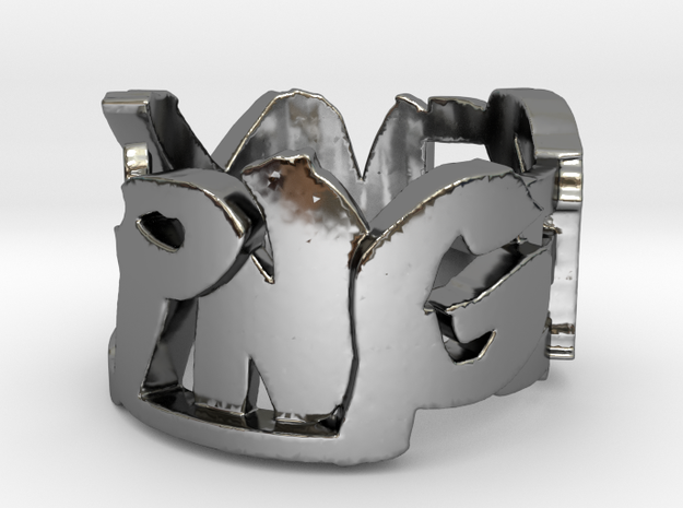 MyFinger Ring Size 9 3d printed