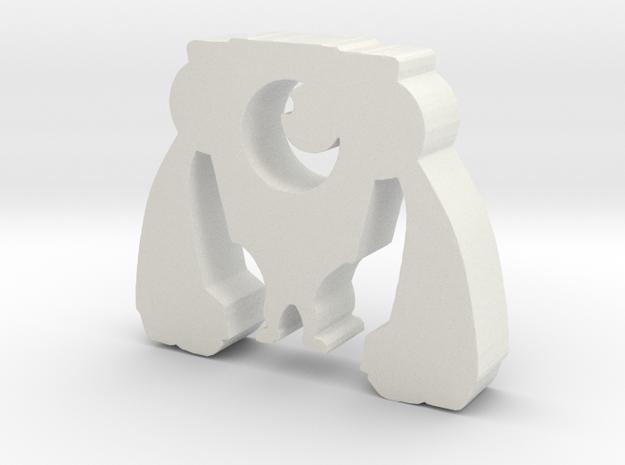 Small metal Squick in White Natural Versatile Plastic
