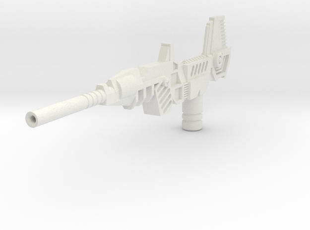 WingerBlitzer Big Blaster in White Natural Versatile Plastic