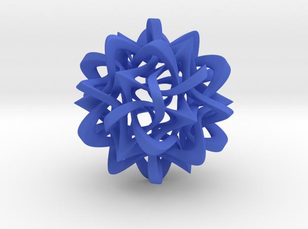 Rhombic Triacontahedron III, large 3d printed