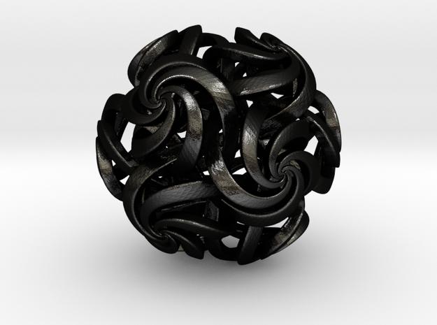 Rhombic Triacontahedron IV, large 3d printed