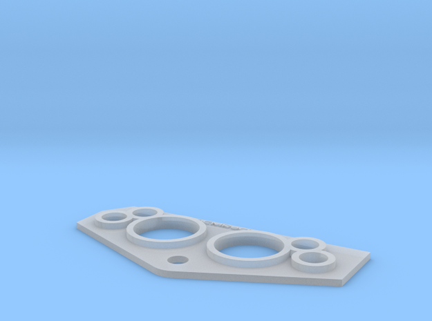 VTH Gauge Panel in Smooth Fine Detail Plastic