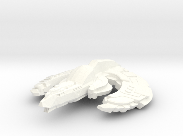 Wildbat Class Cruiser Small in White Strong & Flexible Polished