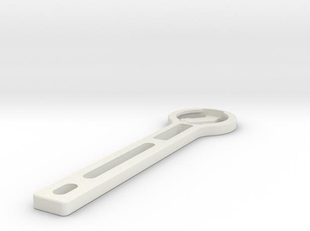 Garmin Mount for talon handlebars in White Strong & Flexible