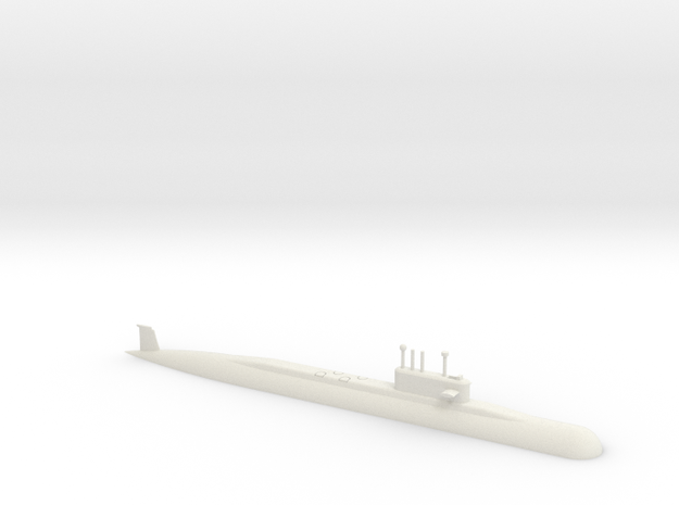 1/700 Arihant Class Submarine (Waterline) in White Natural Versatile Plastic