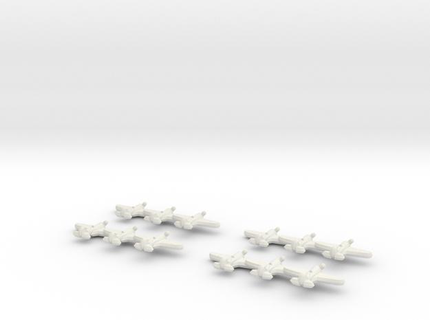 I-16 Ishak (Triplet) 1:900 x4 3d printed