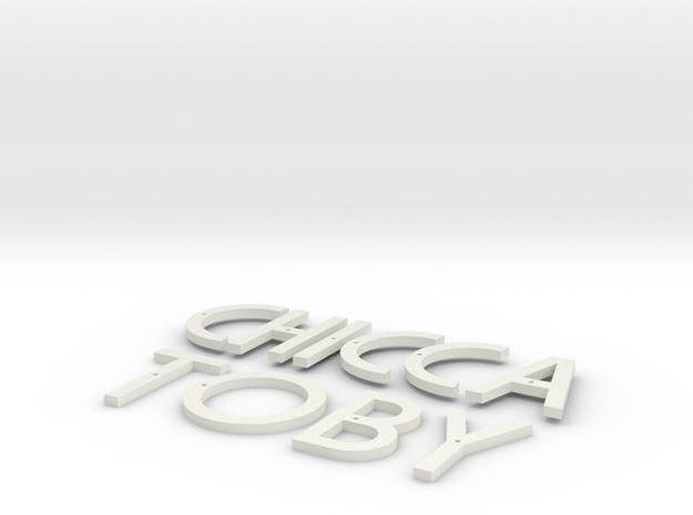 Targa-Saimer in White Natural Versatile Plastic