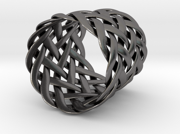 Joyce's Tapered Ring 3d printed