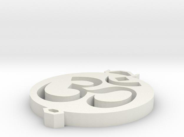 Ohm Pendant 3d printed