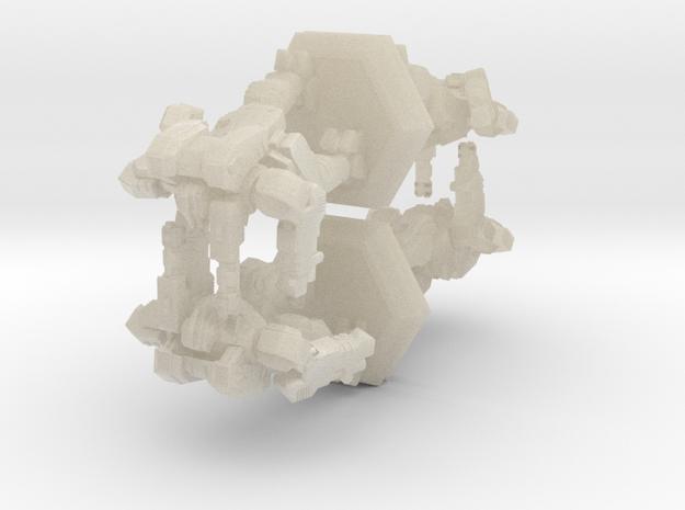 WHAM- King Sandman x4 (1/500th) 3d printed