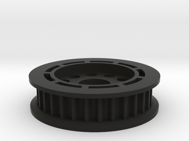 LA-1 BALL DIFF in Black Natural Versatile Plastic