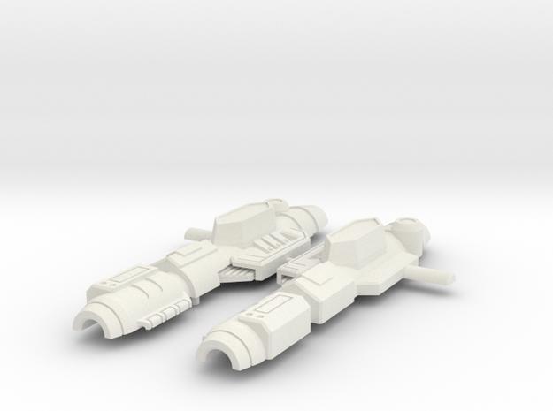Spring Blaster in White Natural Versatile Plastic