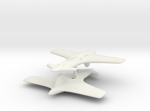 1/200 Henschel Hs P-75k 'Kurt' (x2) 3d printed