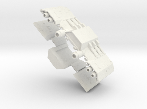 Daedalus Group 2small in White Strong & Flexible