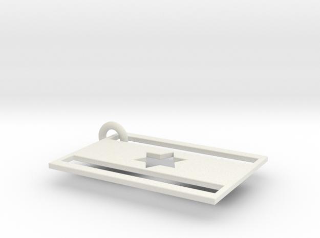 HEXAGRAM in White Strong & Flexible