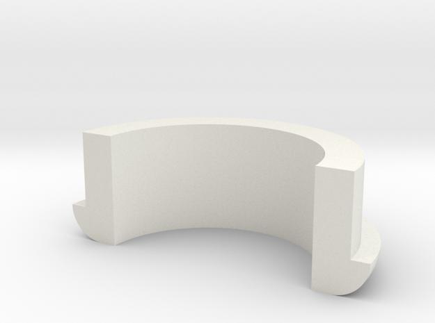 Picnic Table Umbrella Spacer (half) 3d printed
