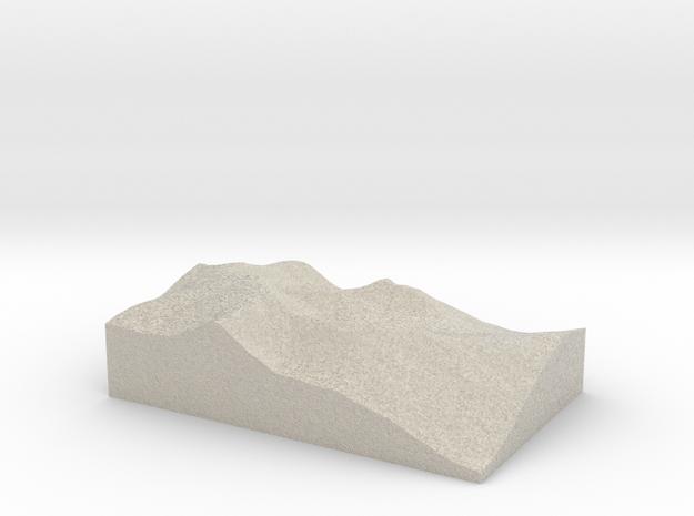 Model of Glenridding 3d printed