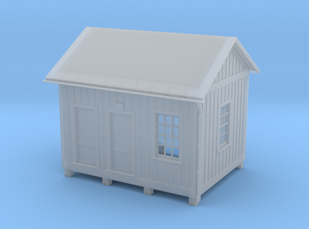 HO Scale Signal Water Supply House 3d printed