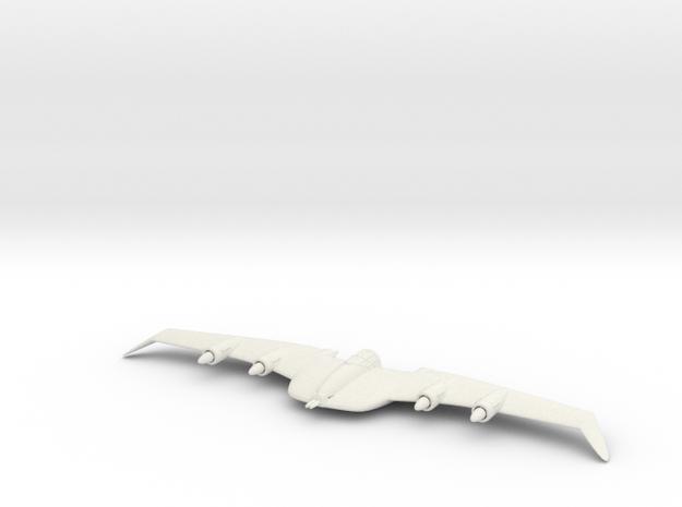 1/200 Columbia Design Bureau Egret in White Natural Versatile Plastic
