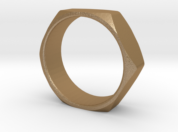 Nut Ring Size 13 3d printed