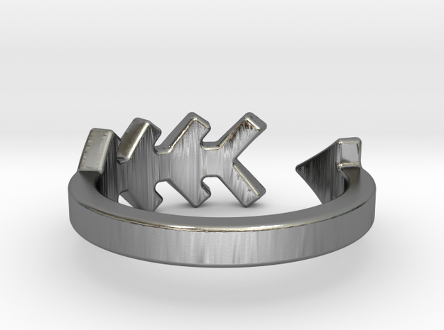Arrow Ring  (whole sizes 3-13 available) 3d printed