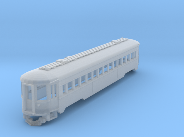 CNSM 757 Silverliner coach 3d printed