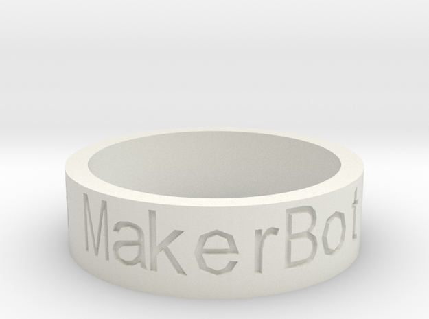 Message Ring Customizer 3d printed