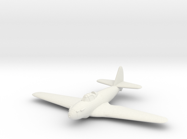 1/200 Piaggio P.119 in White Natural Versatile Plastic