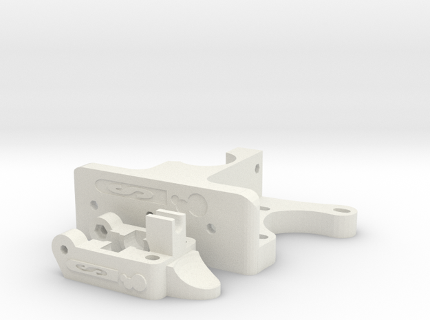 Schlaboratory Budastruder 3d printed