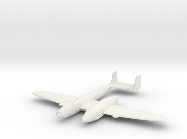 1/200 Isacson 'Flyg' in White Natural Versatile Plastic