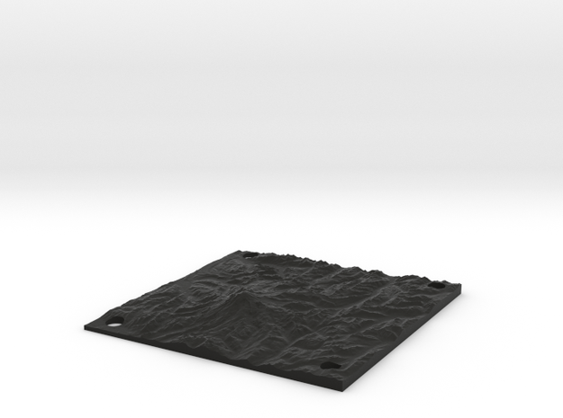 Mt Rainier 15cm x 15cm panel 3d printed