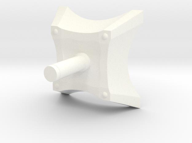 Spark Casing Bottom Handle Final R 3d printed