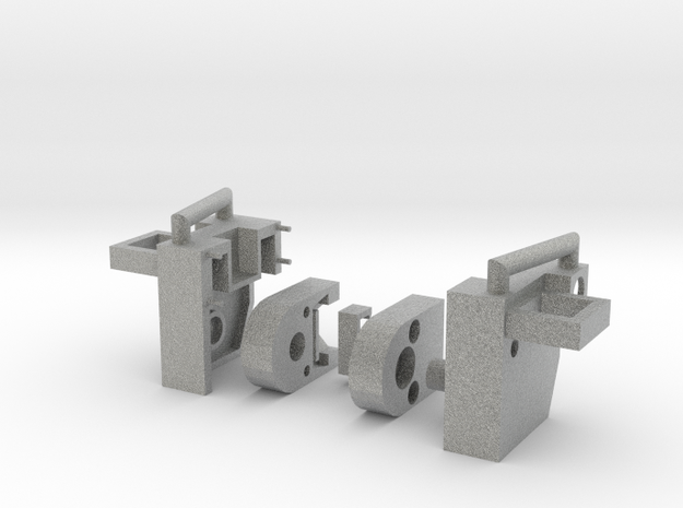 Heavy Tread Combiner Knee Joint W PCC Port 3d printed